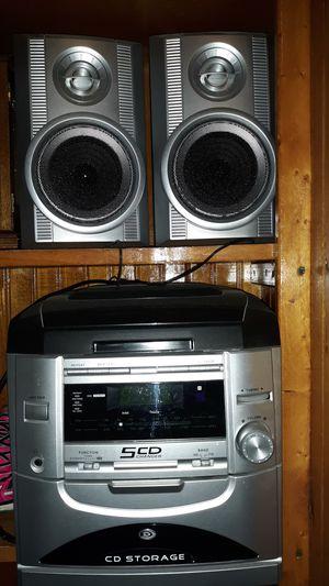 CD player with radio/speakers for Sale in Tonawanda, NY