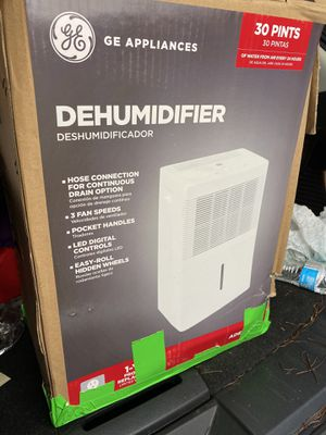 GE Dehumidifier for Sale in UNIVERSITY PA, MD