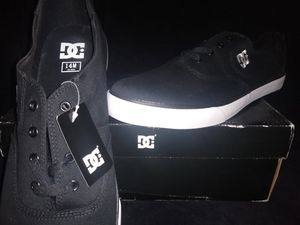 Men's DC FLASH Skater Shoes Size 14 NEW Canvas, 100% Vegan Materials for Sale in Roanoke, VA