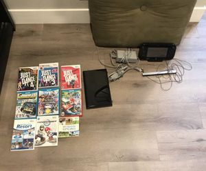 Nintendo Wii U system with gamepad and games (all chargers and cables included) for Sale in Sacramento, CA