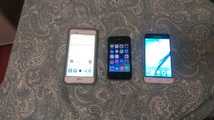3 phones for sale now for Sale in Centreville, VA