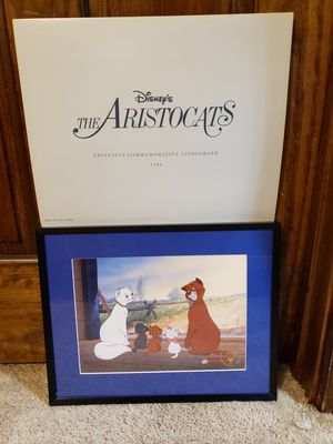 Commemorative Disney Lithograph From The Aristocats for Sale in Austin, TX
