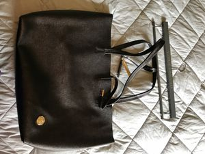 Black Vince Camuto Large Tote with travel bag for Sale in Spokane, WA