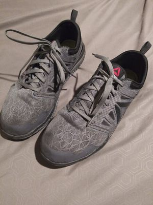 Reebok's steel toe shoes size 10 for Sale in Tulsa, OK