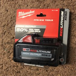 Battery 8.0 Milwaukee M18 for Sale in Silver Spring,  MD