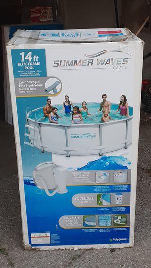 14F summer waves elite, complete with ladder for Sale in San Bernardino, CA