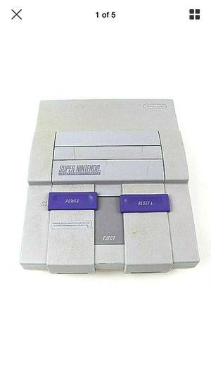Super Nintendo SNES Game Console for Sale in St. Peters, MO