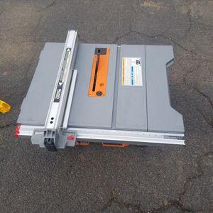 Ridgid table Saw 10in R4518T for Sale in Phoenix, AZ