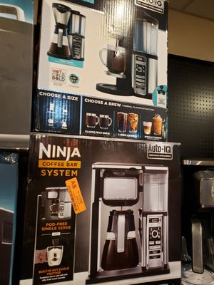 Ninja coffee bar maker for Sale in Modesto, CA