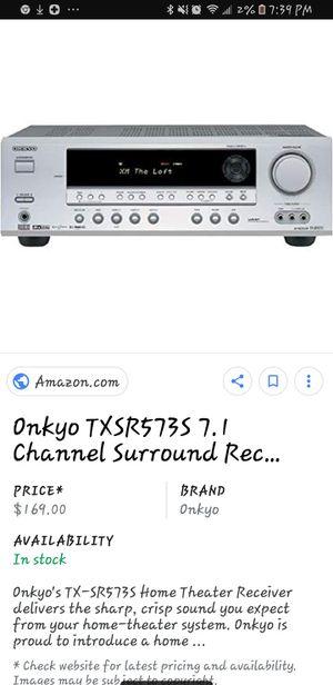 Onkyo 7.1 system for Sale in Glen Burnie, MD