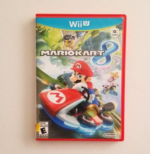 Mario Kart 8 - Nintendo Wii U for Sale in Las Vegas, NV