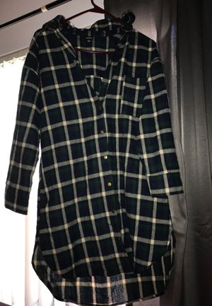 flannel T-shirt dress for Sale in San Diego, CA