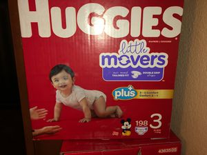 Huggies Diapers size 3 for Sale in Las Vegas, NV