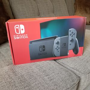 Nintendo Switch Console NEW Grey Joy-Cons 32gb for Sale in Winter Springs, FL
