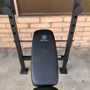 Small ,light duty standard work out adjustable weight bench press & NO To $100 for Sale in Phoenix, AZ