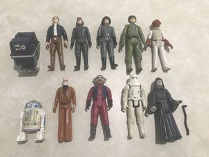 Vintage Star Wars toys figures vehicles Lot for Sale in Tampa, FL