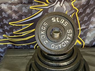 """Weight Plates 5 Lbs. - 2"""" Olympic Plates for Sale in Clovis,  CA"""