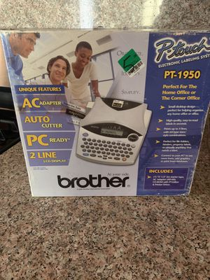 Brother P-touch PT-1950 Label printer for Sale in Baldwin Park, CA