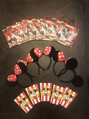 Lots of Micky mouse theme party decoration for Sale in Brooklyn, NY