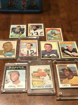 Rare Topps baseball/football cards for Sale in Sherwood, AR