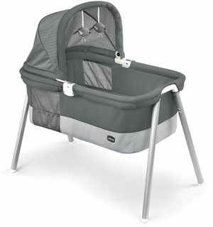 $50.00 GREAT CONDITION Chicco® Lullago Deluxe Travel Crib in Taupe for Sale in Tempe, AZ