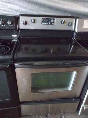 Whirlpool Stainless Steel Glasstop Electric Stoves 90 Day Warranty Starting price $250 and up for Sale in Plant City, FL