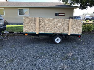 4x8 Utility Trailer OBO for Sale in Saint Paul, OR