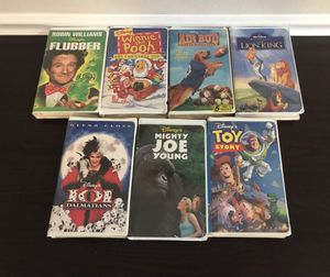 Disney VHS Lot $10 for all for Sale in Port St. Lucie, FL