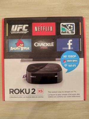 Roku 2 XS 1080p Streaming Player for Sale in Woodinville, WA