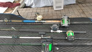 Fishing rod and reels for Sale in Alafaya, FL