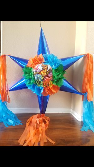 Dinosaurs Star Pinata for Sale in Moreno Valley, CA