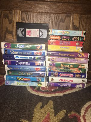 20 piece VHS bundle for Sale in Federal Way, WA