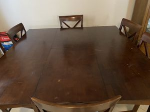 Square table w/ chairs for Sale in Fresno, CA