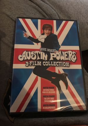 3 film collection Austin Powers for Sale in Wichita, KS