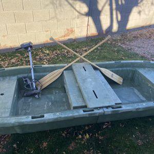 Foldable fiberglass Boat for Sale in Tempe, AZ