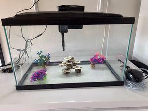 10gl Aquarium Aqueon for Sale in Katy, TX