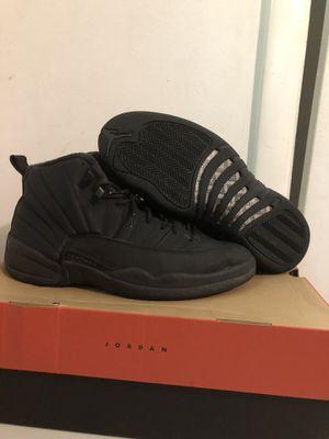 """Jordan retro 12 """"winter black """"size 11 for Sale in Nashville, TN"""