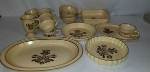 Vintage Pfaltzgraff dishes for Sale in Manassas, VA