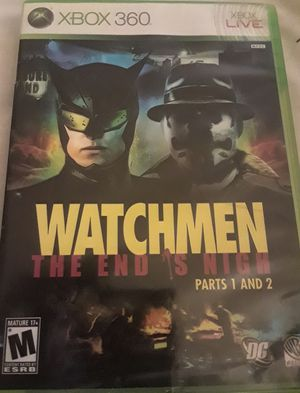 XBOX 360 Watchmen: The End Is Nigh Parts 1 And 2! Complete! for Sale in Colorado Springs, CO