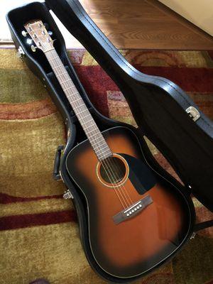 Fender CD 60 Acoustic Guitar and Case - Sunburst for Sale in Alexandria, VA