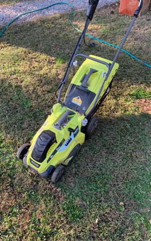 Ryobi electric plug in lawn mower for Sale in Virginia Beach, VA