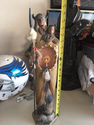 Indian Dream Catcher statue decor or collectible piece. for Sale in Chandler, AZ