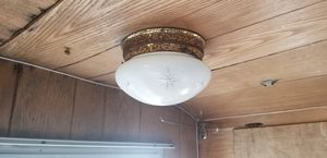 Antique 1965 camper propane lamp and 2 electric lights. for Sale in Bonney Lake, WA
