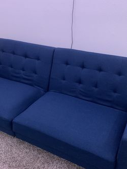 Navy Blue Couch for Sale in Redlands,  CA