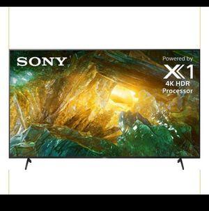 "TV 85"" BRAND NEW 4KSMART SONY for Sale in Schaumburg, IL"