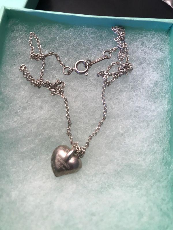 925 silver tiffany&co necklace