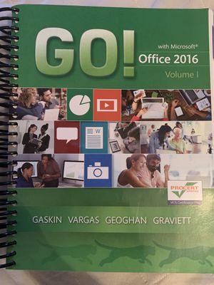 Microsoft office 2016 book for Sale in Moreno Valley, CA