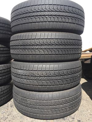 225/60/17 General set of used tires in great condition 75% tread 190$ for 4 . Installation balance and alignment available. Road force balance avail for Sale in Union, NJ