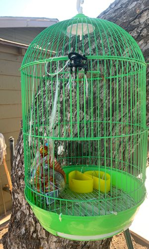 Used bird cage for Sale in Santa Ana, CA
