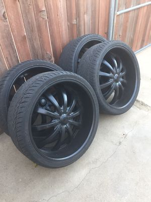 26 inch rims for Sale in Elverta, CA